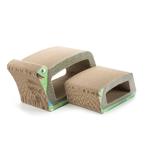 Imperial Cat Turtle 2-in-1 Recycled Paper Cat Scratching Board