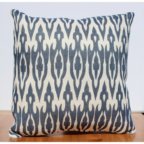 Auburn Textile Jute Printed Accent Pillow