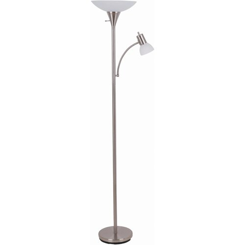 Illuminada Mother and Son Torchiere Floor Lamp