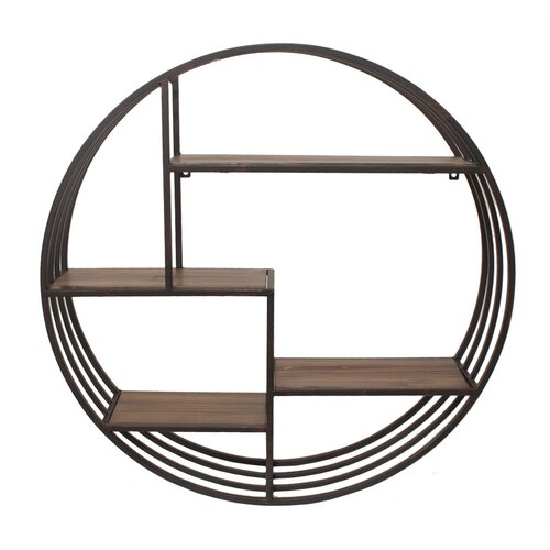 Wall Rack with Shelves