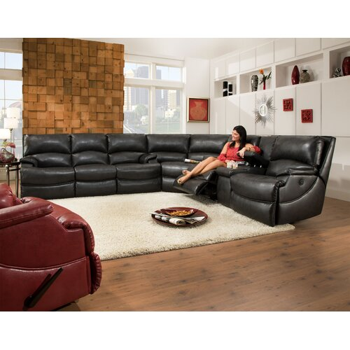 Southern Motion Shazam'' Reclining Sofa