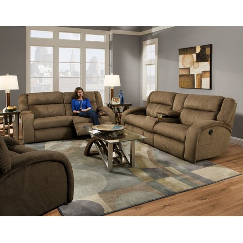 Southern Motion Maverick Chair and Haft Chaise Recliner