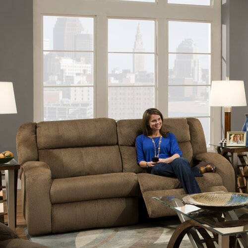 Maverick Lay Flat'' Reclining Sofa