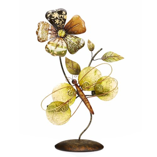 Wall Sconces That Hold Flowers: Bombay Heritage Flower Iron Tealight Wall Sconce & Reviews