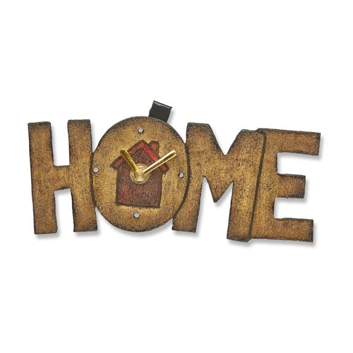 Home Wood Magnet Wall Clock