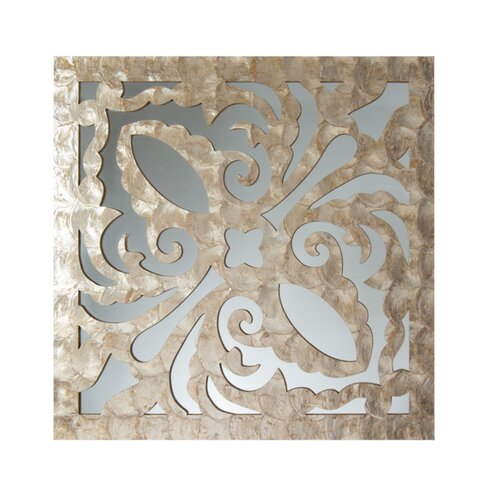 Medallion Design Decorative Mirror