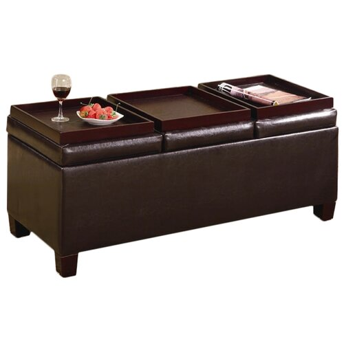 Wildon Home ® Haines Cocktail Ottoman