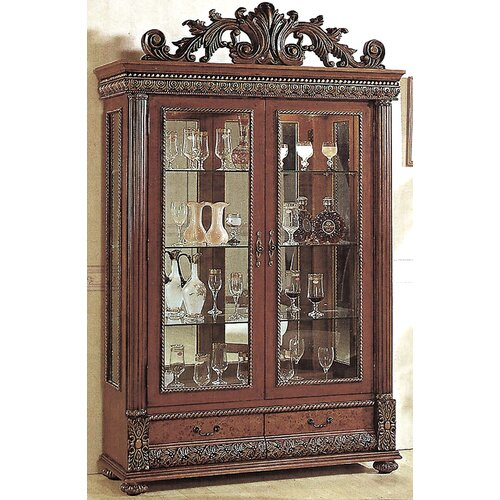 Wildon Home ® Bella Curio Cabinet