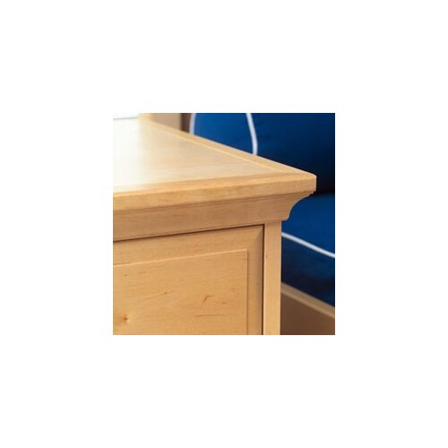 Wildon Home ® Crown and Base Kit for 3 Drawer Chest and 5 Drawer Chest