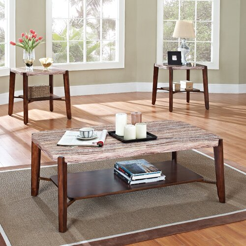 Wildon Home ® Nadav 3 Piece Coffee Table Set
