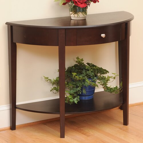 Wildon Home ® Bay Shore Large Half Moon Console Table