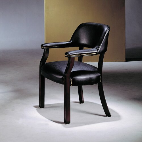 Wildon Home ® Vinyl Captain Arm Chair