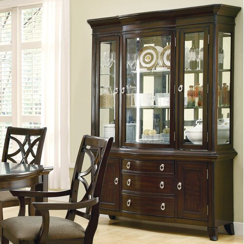 Wildon Home ® Greenport China Cabinet