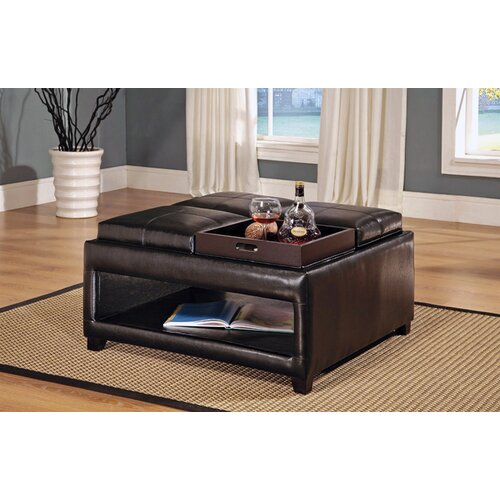 Wildon Home ® Cocktail Ottoman