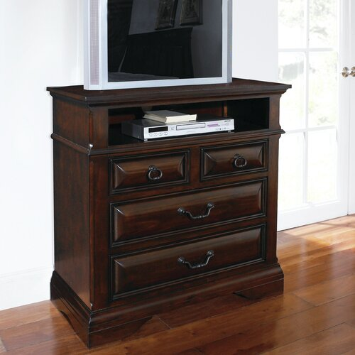Bellagio 4 Drawer Media Chest