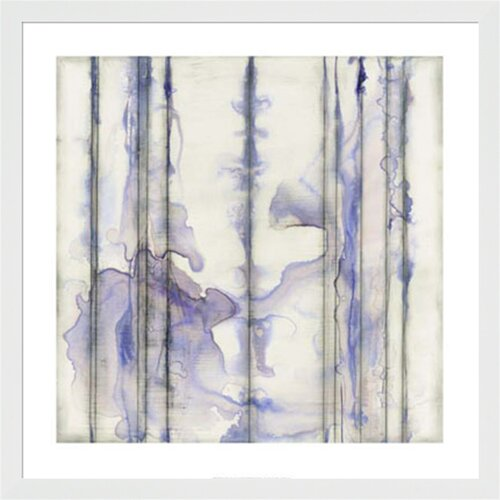 Visible Sound I by Jennifer Goldberger Framed Painting Print