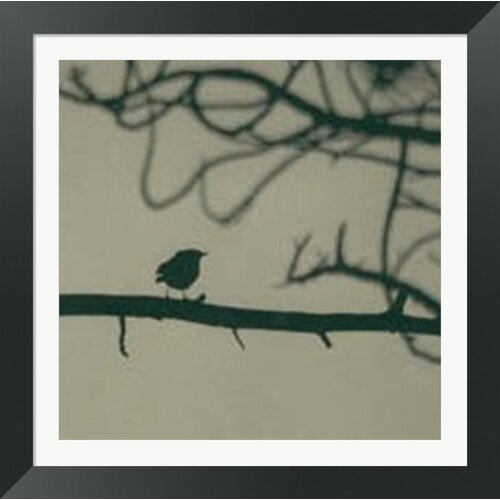 Caligraphy Bird II by Elena Ray Framed Photographic Print