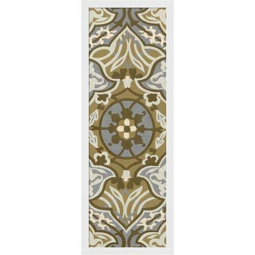 Palladium Tapestry I by Chariklia Zarris Framed Graphic Art
