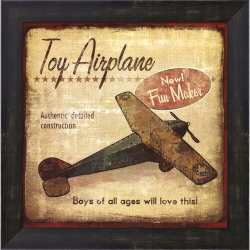 Toy Airplane Framed Art
