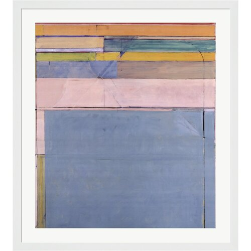 Ocean Park 116, 1979 by Richard Diebenkorn Framed Painting Print