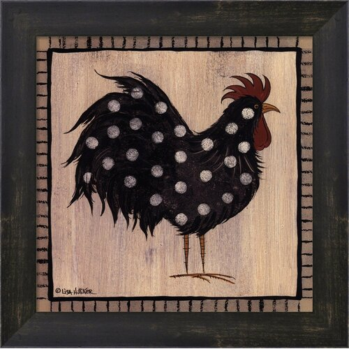 Chicken Pox I by Lisa Hilliker Frame Painting Print