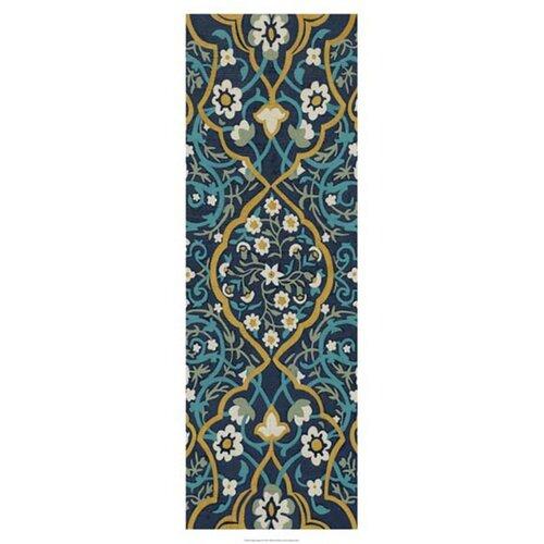 Cobalt Tapestry II by Chariklia Zarris Graphic Art