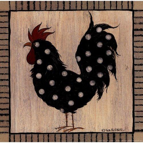 Chicken Pox II by Lisa Hilliker Painting Print