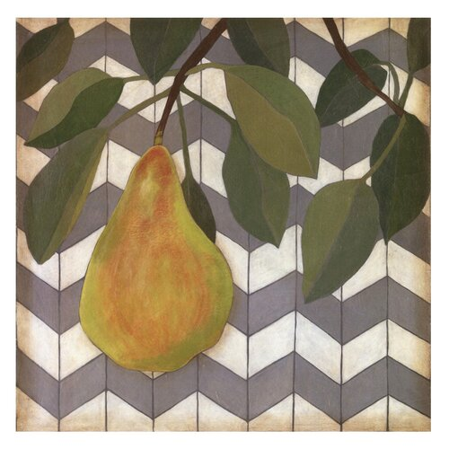 Fruit and Pattern II Megan Meagher Painting Print