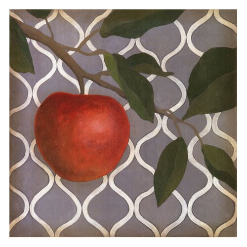 Fruit and Pattern III Megan Meagher Painting Print
