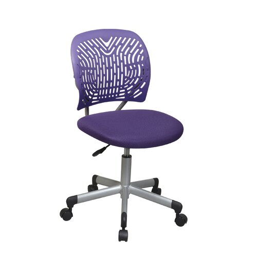 OSP Designs SpaceFlex Mid Back Task Chair without Arms