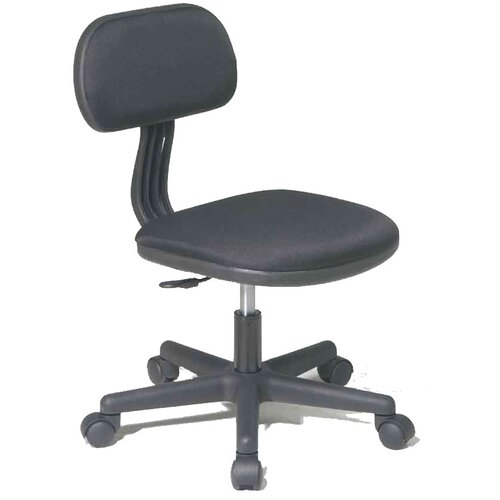 OSP Designs Fabric Back Task Chair