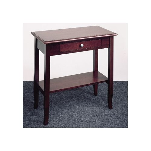 OSP Designs Merlot Foyer Table