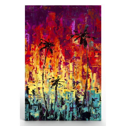Epic Cali Painting Print on Canvas
