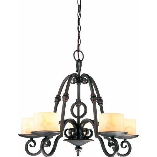 Vernon 5 Light Chandelier