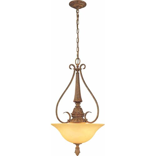 Capri 3 Light Bowl Pendant