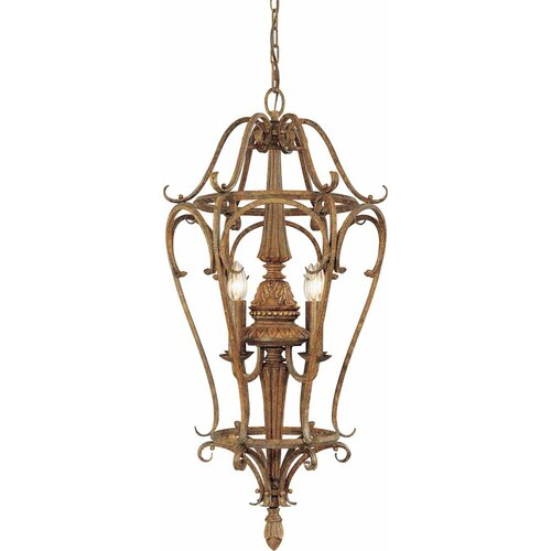 4 Light Candle Chandelier