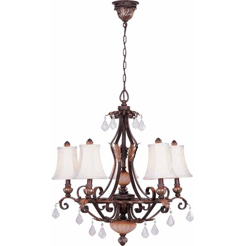 Andalusia 5 Light Chandelier