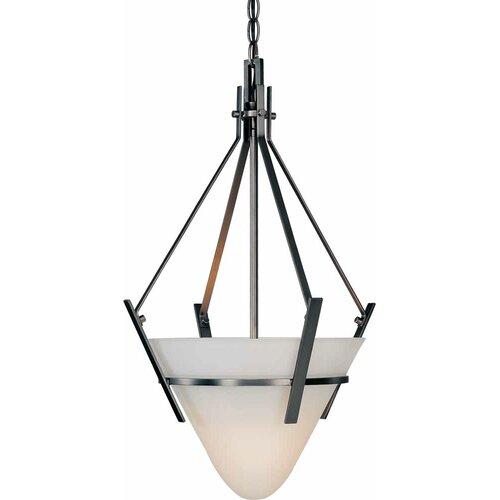 Architectural 1 Light Bowl Pendant