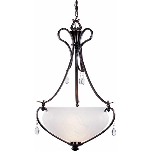 Parisian 1 Light Bowl Pendant