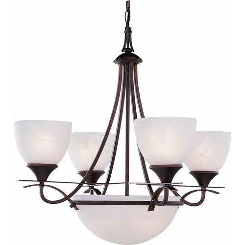 Durango 6 Light Chandelier
