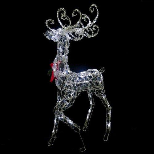 Disc Standing Buck Christmas Decoration