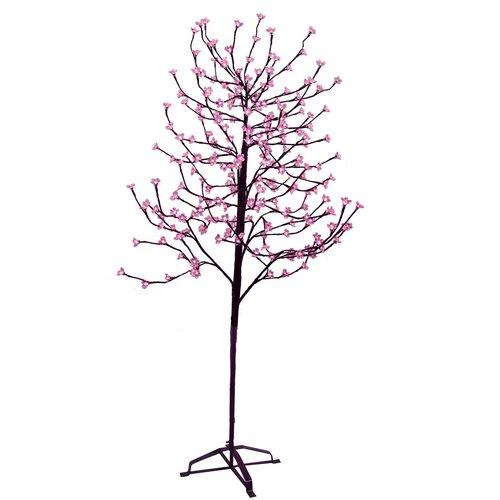 6.5' Blossom Artificial Christmas Tree with 240 Fuschia LED Lights