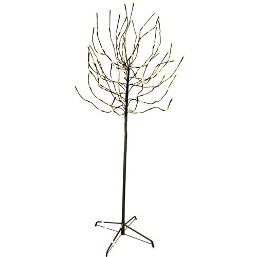 5.5' Bud Artificial Christmas Tree with 140 Warm White LED Lights