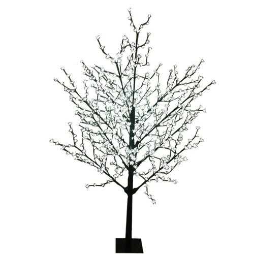 8' Blossom Artificial Christmas Tree with 567 Cool White LED Lights