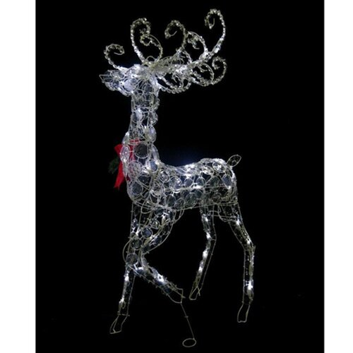 Disc Standing Buck Christmas Decoration