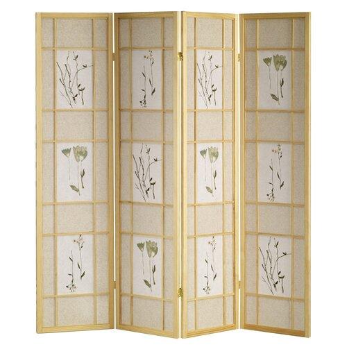 "ORE Furniture 70"" x 68"" 4 Panel Room Divider"