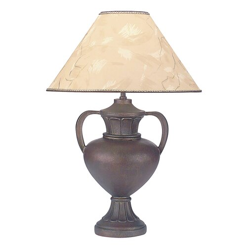 "ORE Furniture 33"" H Polyresin Table Lamp with Paper Shade"