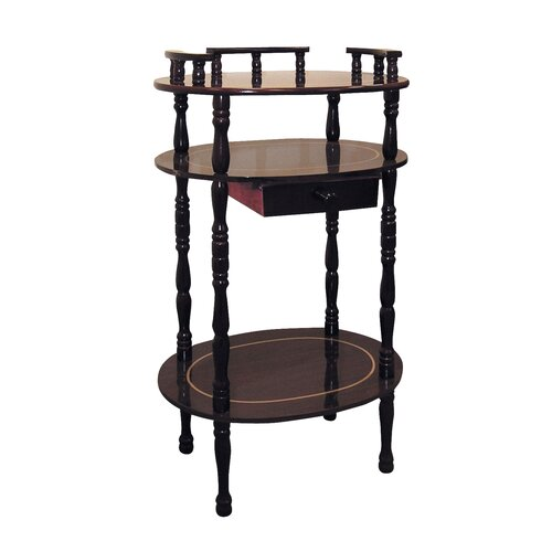 ORE Furniture Multi-Tiered Telephone Table