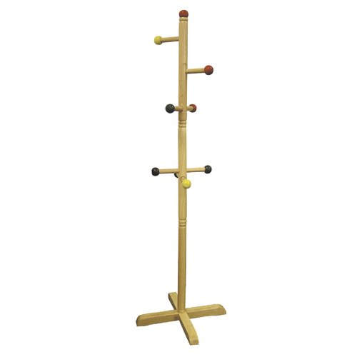 ORE Furniture Kid's 8 Peg Coat Rack