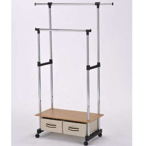 ORE Furniture 62'' H x 30'' W x 16'' D Double Lever Coat Rack